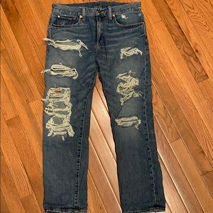 Ralph Lauren Denim & Supply Ripped Jeans